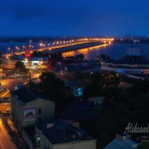нічна фотографія на великій витримці